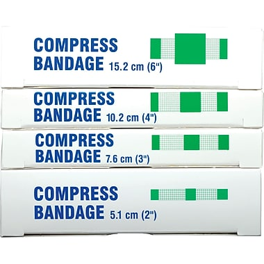 Compress Pressure Bandages, SAY365, Yes, 144/Pack