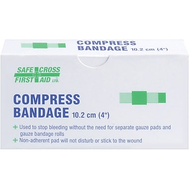 Compress Pressure Bandages, SAY369, Yes, 24/Pack