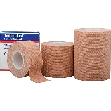 Tensoplast Fabric Elastic Tape, SAY404, 3/Pack