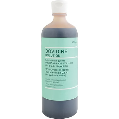 Providone Iodine Antiseptic Solution, 4/Pack