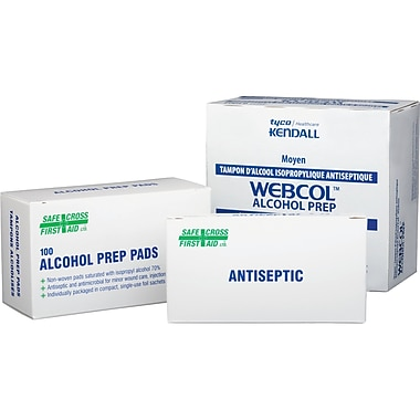 Alcohol Antiseptic swabs, SAY430, Alcohol Swab, 3600/Pack