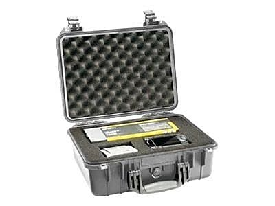 Pelican 1450 Polycarbonate Medium Shipping Case with Foam, Silver IM1ZH8437
