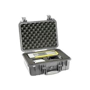 Pelican 1450 Polycarbonate Medium Shipping Case with Foam, Silver