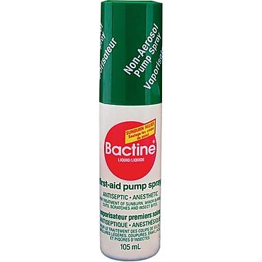 Bactine - Pompe de vaporisation antiseptique de premiers soins, 5/paquet