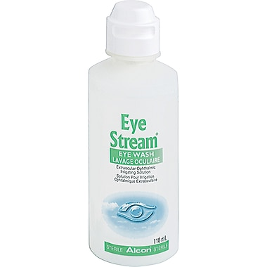 Eye Stream Eye Wash, Sterile, 5/Pack