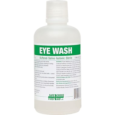 Eyewash Solution, SAY478, Solution, 4/Pack