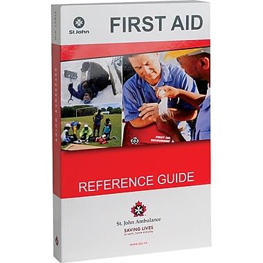 Guides de premiers soins de l'Ambulance Saint-Jean, anglais, 2/pqt