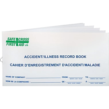 Safecross SAY530 Accident Record Books, 24/Pack