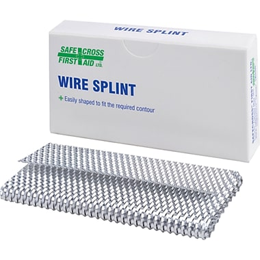 Wire Splints, Aluminum