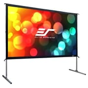 Elite Screens Yard Master 2 Rear OMS120HR2 Manual Floor Projector Screen, 120""