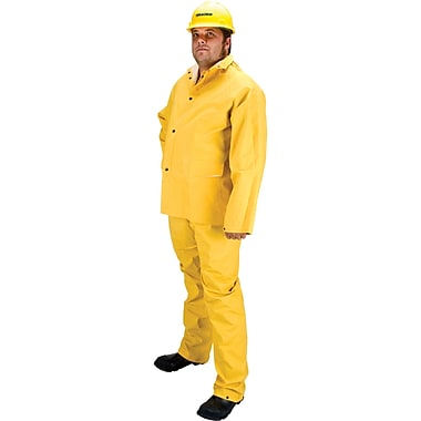 Rz600 Flame Retardant Rain Suit, Seh107, Medium, 4/Pack