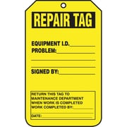 "Tags Repair Tag Cardstock, 25/p, 5 7/8""x3 1/8"", 3/Pack"