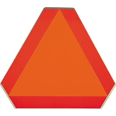 Slow Moving Vehicle Signs, SC154, Slow Moving Vehicle, 3/Pack