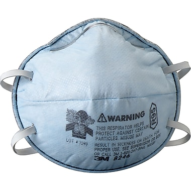 8246 R95 Particulate Respirators, SE263, 20/Pack