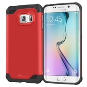 roocase Armor Case Cover for Apple iPhone 6/6S, Carmine Red (RC-IPH6S-4.7-ET-RD)