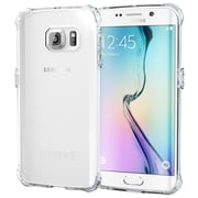 roocase Back Case Cover for Samsung Galaxy S6 Edge, Clear (RC-SAM-S6E-IX-CL)