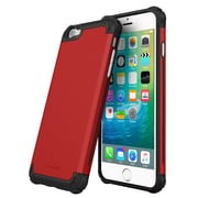 roocase Armor Case Cover for Apple iPhone 6 Plus/6S Plus, Carmine Red (RC-IPH6S-5.5-ET-RD)
