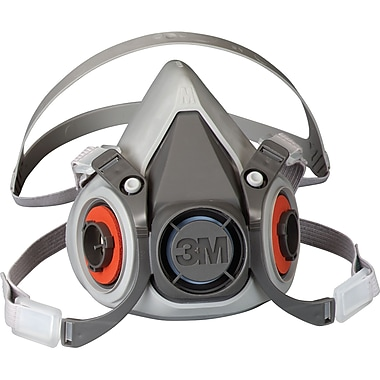 6000 Series Half Facepiece Low-Maintenance Respirators, SE886, Half-Face Respirator