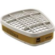 Cartouches pour filtre de respirateur à gaz/vapeur de la gamme 6000, tampons/cartouches pour filtre (SE897)