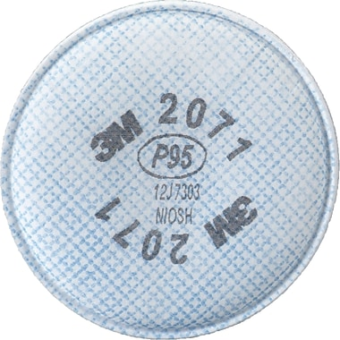2000 Series Respirator Prefilters, SE906, Filter Pads/Cartridges, 24/Pack