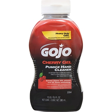 Gojo Cherry Gel Pumice Hand Cleaners, SEA259, 12/Pack