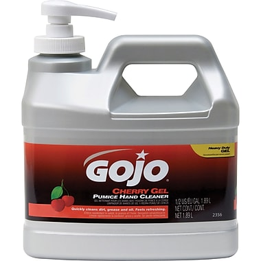 Gojo Cherry Gel Pumice Hand Cleaner, SEA260