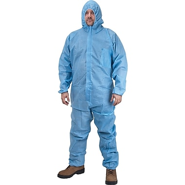 Polypropylene Coveralls, Sec402, 2X-Large, 36/Pack
