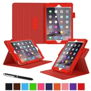"roocase RC-APL-MINI4-DV-RD Dual View Leather Case for 7.9"" Apple iPad Mini 4, Red"