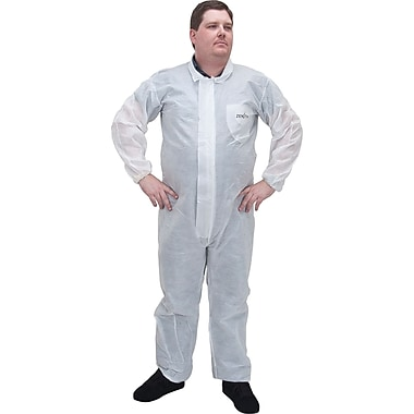 Sms Protective Clothing, Sec840, 4X-Large, 12/Pack