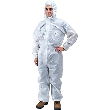 Sms Protective Clothing, Sec845, 3X-Large, 36/Pack