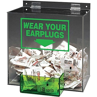 Large Capacity Ear Plug Dispensers