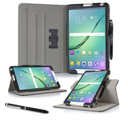 "roocase RC-GALX-TAB-S2-8.0-DV-BK Dual View Pro Leather Folio Case for 8"" Samsung Galaxy Tab S2, Black"