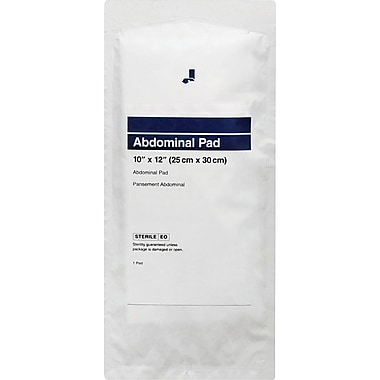 Abdominal/Combine Pads, 36/Pack