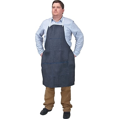 Denim Aprons, 12/Pack