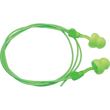 Bouchons d'oreille en mousse Glide, 100 paires/boîte