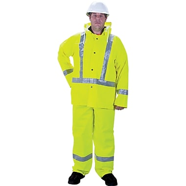 Rz900 Premium Traffic Rain Suits, Seh115, Large, 2/Pack