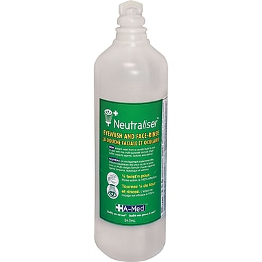 Neutraliser Eyewash & Face-Rinse, SEI502, Solution, 5/Pack