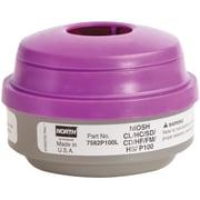 N Series Combination Gas/vapour/p100 Filter Respirator Cartridges, Sei603, Filter Pads/cartridges, 6/Pack