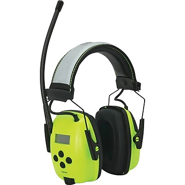 Radio Digital With Hi-visibility Earmuffs