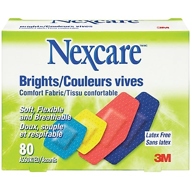 Nexcare Comfort Brights Bandages, 960/Pack