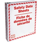 Incom Safety Data Sheet Binders, 2/Pack, 2/Pack
