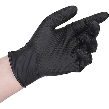 Heavyweight Black Nitrile Gloves, SEK261, 250 Pairs/Box