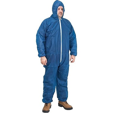 Polypropylene Coveralls, Sek358, X-Large, 36/Pack