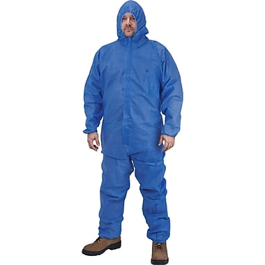 Sms Coveralls, Sek368, 4X-Large, 36/Pack
