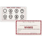 WHMIS Wallet Cards, 125/Pack