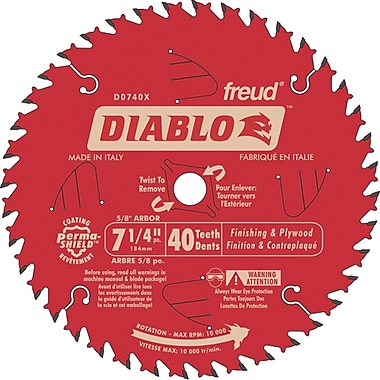 Contractor Saw Blades, Diablo Finishing Saw Blades, 3/Pack