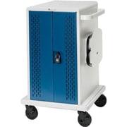 Bretford  Core  36M Concrete/Topaz Steel 36-Unit Chromebook Tab Charging Cart (CORE36MS-CTTZ)