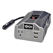 Tripp Lite PowerVerter 2 USB Charging Ports Ultra-Compact Car Inverter, 200 W (PV200USB)