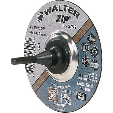 Portable Small Diameter Reinforced Cut-off Wheels, Zip Type 01, Ue756