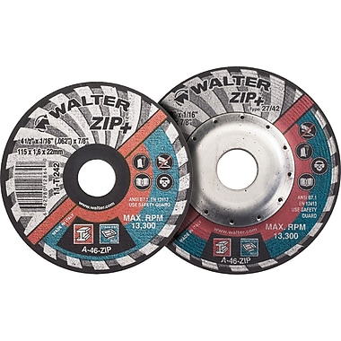 Zip+ Right Angle Grinder Reinforced Cut-off Wheels, Qty/pk 12, Vv087
